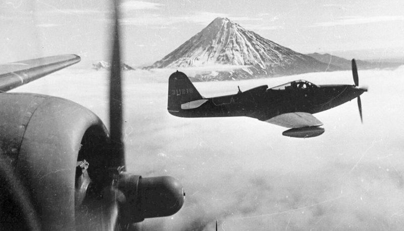 Перегон американских истребителей на авиатрассе Ал-Сиб. 1942 г.