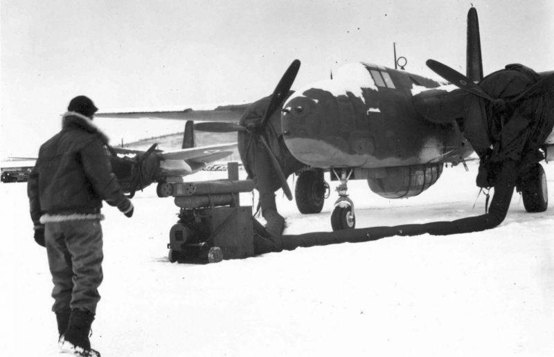 Аэродром Уэлькаль, первый на пути с Аляски. 1942 г.