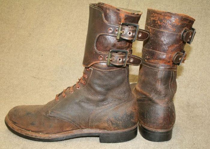 Американские ботинки, поставляемые в СССР по Ленд-лизу. 1942 г.