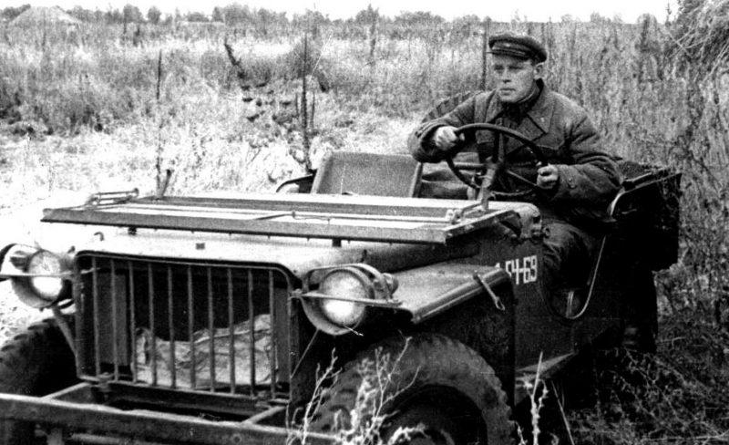 Американские внедорожники «Willys MB» в Красной Армии. 1943 г.