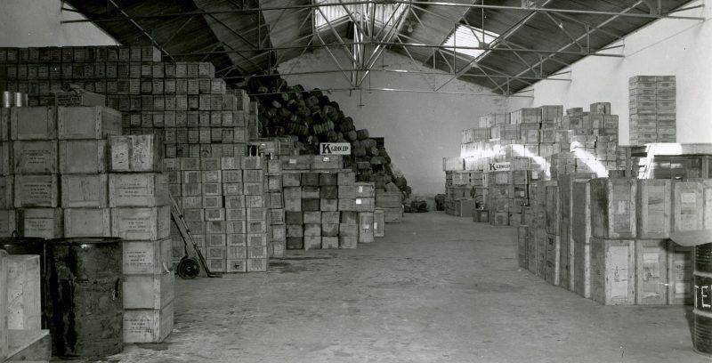 Грузы по ленд-лизу для сил Свободной Франции в Касабланке. 1943 г.
