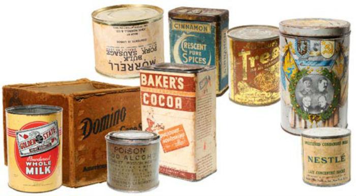 Американские консервы, поставляемые по Ленд-лизу. 1943 г.