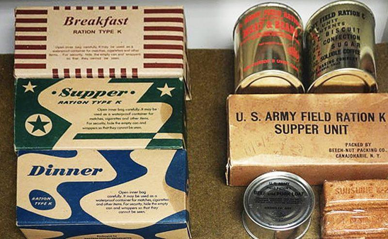 Американские продукты, поставляемые по Ленд-лизу. 1943 г.