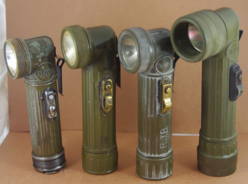 Электрические фонарики, поставляемые по Ленд-лизу. 1943 г.