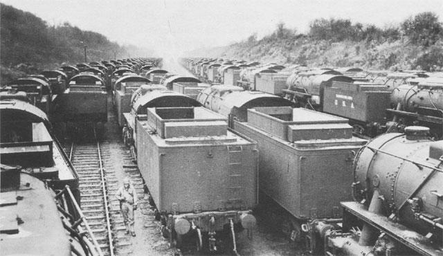 Паровозы USATC S160, построенные для СССР. 1944 г.